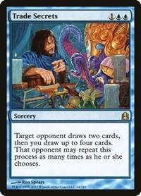 Trade Secrets, Magic: The Gathering, Commander