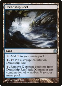 Dreadship Reef, Magic: The Gathering, Commander