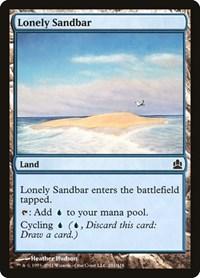 Lonely Sandbar, Magic: The Gathering, Commander