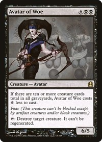 Avatar of Woe, Magic: The Gathering, Commander