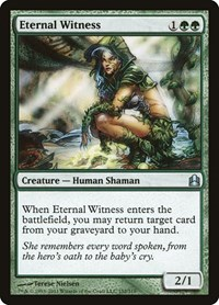 Eternal Witness, Magic: The Gathering, Commander