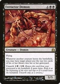 Extractor Demon, Magic: The Gathering, Commander