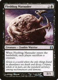 Fleshbag Marauder, Magic: The Gathering, Commander
