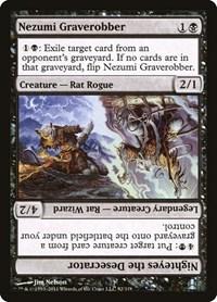 Nezumi Graverobber / Nighteyes the Desecrator, Magic, Commander