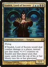 Szadek, Lord of Secrets, Magic, Commander