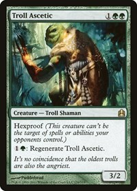 Troll Ascetic, Magic: The Gathering, Commander