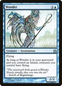 Wonder, Magic: The Gathering, Commander