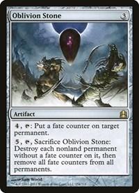 Oblivion Stone, Magic, Commander