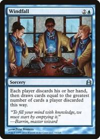 Windfall, Magic: The Gathering, Commander