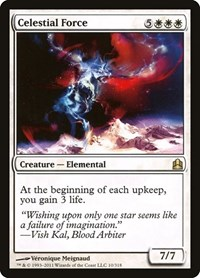 Celestial Force, Magic: The Gathering, Commander