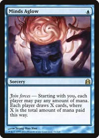 Minds Aglow, Magic: The Gathering, Commander