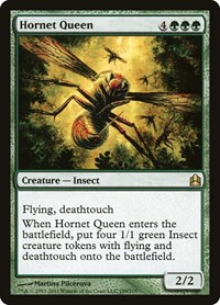 Hornet Queen, Magic, Commander