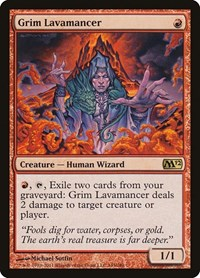 Grim Lavamancer, Magic: The Gathering, Magic 2012 (M12)