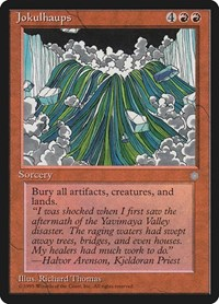 Jokulhaups, Magic: The Gathering, Ice Age
