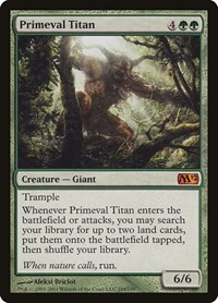 Primeval Titan, Magic: The Gathering, Magic 2012 (M12)