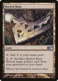 Buried Ruin, Magic: The Gathering, Magic 2012 (M12)