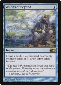 Visions of Beyond, Magic: The Gathering, Magic 2012 (M12)