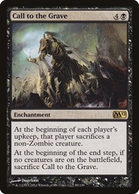 Call to the Grave, Magic, Magic 2012 (M12)