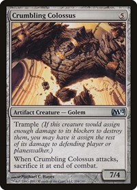 Crumbling Colossus, Magic: The Gathering, Magic 2012 (M12)