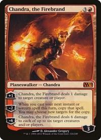 Chandra, the Firebrand, Magic: The Gathering, Magic 2012 (M12)