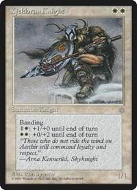 Kjeldoran Knight, Magic: The Gathering, Ice Age