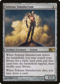 Solemn Simulacrum, Magic: The Gathering, Magic 2012 (M12)
