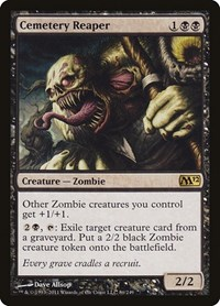 Cemetery Reaper, Magic: The Gathering, Magic 2012 (M12)