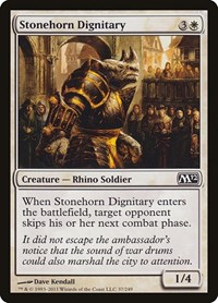 Stonehorn Dignitary (Foil)