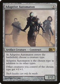 Adaptive Automaton, Magic: The Gathering, Magic 2012 (M12)
