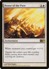 Honor of the Pure, Magic: The Gathering, Magic 2012 (M12)