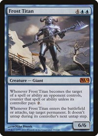 Frost Titan, Magic: The Gathering, Magic 2012 (M12)