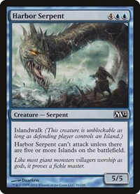 Harbor Serpent, Magic: The Gathering, Magic 2012 (M12)