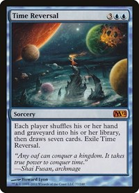 Time Reversal, Magic, Magic 2012 (M12)