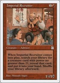Imperial Recruiter, Magic: The Gathering, Portal Three Kingdoms