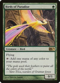 Birds of Paradise, Magic: The Gathering, Magic 2012 (M12)
