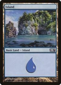 Island (234), Magic: The Gathering, Magic 2012 (M12)