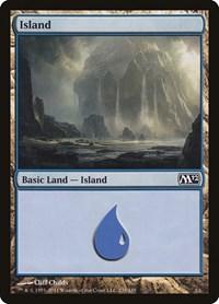 Island (235), Magic: The Gathering, Magic 2012 (M12)