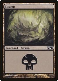 Swamp (238), Magic: The Gathering, Magic 2012 (M12)