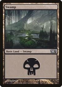 Swamp (240), Magic: The Gathering, Magic 2012 (M12)