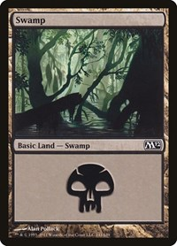 Swamp (241), Magic: The Gathering, Magic 2012 (M12)
