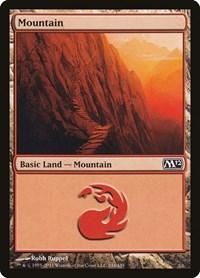 Mountain (244), Magic: The Gathering, Magic 2012 (M12)