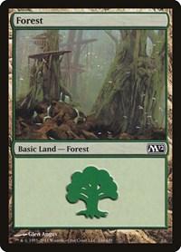 Forest (246), Magic, Magic 2012 (M12)