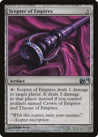 Scepter of Empires, Magic: The Gathering, Magic 2012 (M12)