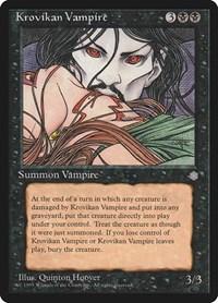Krovikan Vampire, Magic, Ice Age