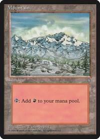 Mountain (340), Magic: The Gathering, Ice Age
