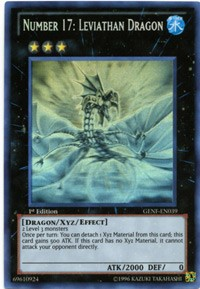3x Number 17 Leviathan Dragon BP01//SP13 Mixed Editions Yugioh