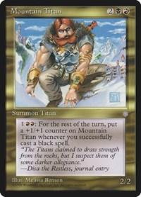 Mountain Titan, Magic: The Gathering, Ice Age