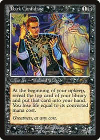 Dark Confidant, Magic, Judge Promos