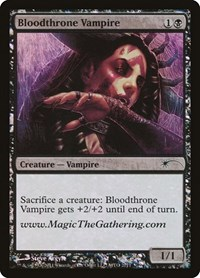 Bloodthrone Vampire, Magic: The Gathering, Media Promos