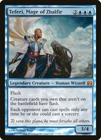 Teferi, Mage of Zhalfir, Magic: The Gathering, From the Vault: Legends